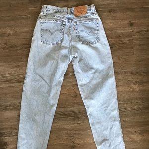 Levi mom jeans